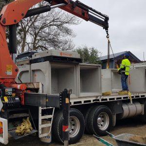 Precast Concrete Pit Victoria Delivery