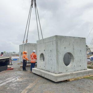 Precast Concrete Custom Pit