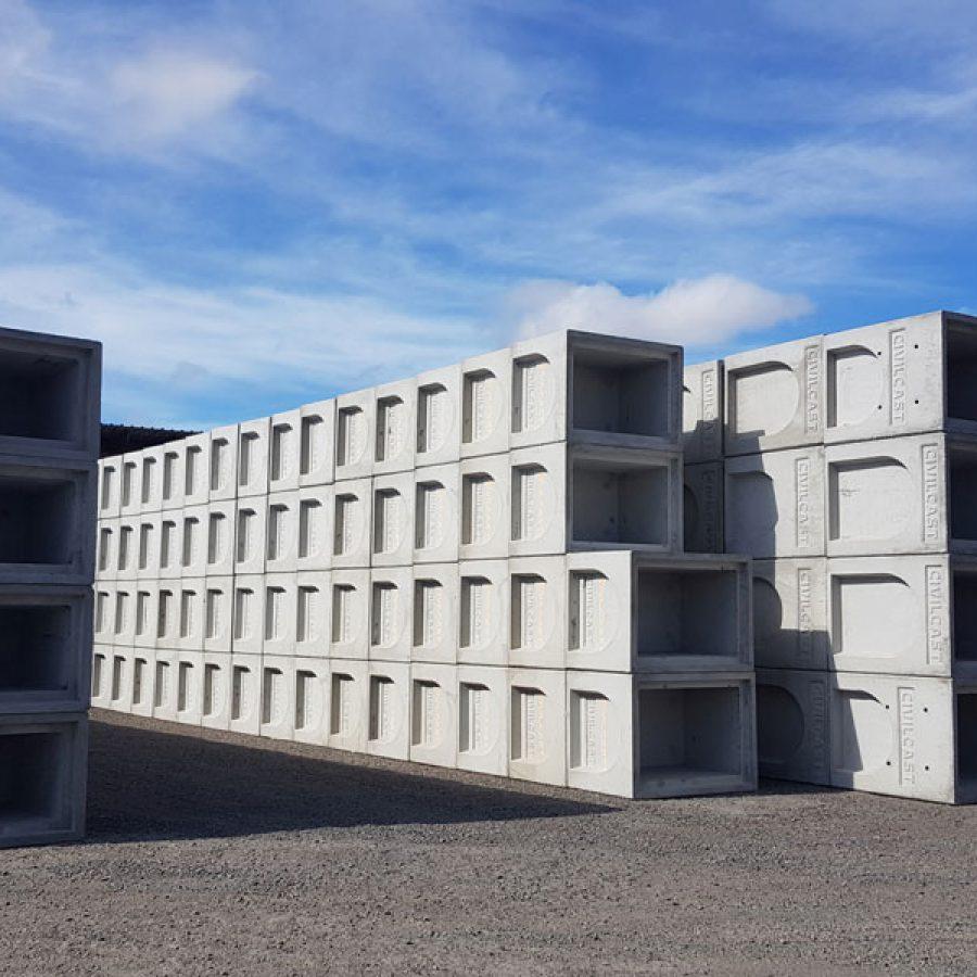 Goulburn concrete pits on site